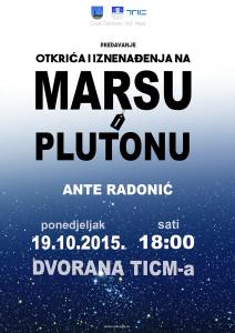 Plakat Ante Radonic--Mars i Pluton_w